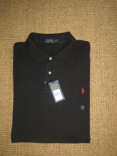c150721f9f Polo Ralph Lauren Men's Big & Tall Short Sleeve Sleeve 100% Cotton Solid  Casual Shirts   eBay