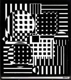 Objet cinétique - (Victor Vasarely)