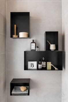 Minna Jones: styling for Blau Interior Ceramic Soap Dish, House By The Sea, Modern Vanity, Plastic Design, Small Living Rooms, Floating Shelves, Small Spaces, Interior Design, Bathroom Ideas