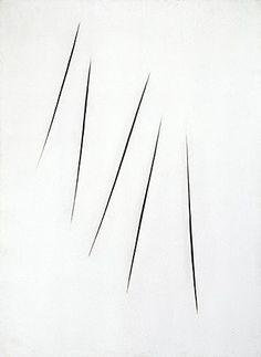 Lucio Fontana, Conce