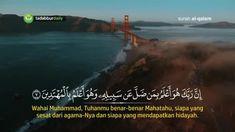 Surah Al Qalam Qari Islam Sobhi full video see on youtube @tadabbur_ #tadabburdaily  Follow  @dakwahbro @dakwahbro @dakwahbro Share Post ini.  InsyaAllah Amal Jariyah bagi kita semua.   #dakwahbro #dakwah #ramadhan #ramadhan1439h Islamic Quotes, Quran, Allah, Youtube, Instagram, God, Holy Quran, Allah Islam
