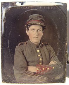 Young Confederate Soldier