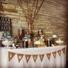 Ideas for Kaly Lolly Buffet Wedding, Candy Bar Wedding, Wedding Desserts, Wedding Centerpieces, Wedding Decorations, Wedding Ideas, Wedding Poses, Wedding Pictures, Wedding Details