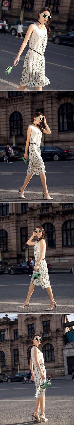 Mujeres Blanco Vestido Largo Vestido de 100% Mujeres De Seda Sin Mangas Vestido Básico con Cinturón de Verano de Una Sola pieza Más El tamaño M XXL en Vestidos de Moda y Complementos Mujer en AliExpress.com   Alibaba Group