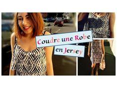 Tuto Couture - Coudre une robe facile et sans patron - YouTube