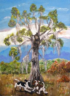 Bear On The Run, A Gaylord Perry 24x30 inch, Acrylic Painting. $150.00. Currently at Vintage 27 booth #87 Lake Hamilton, Fl.