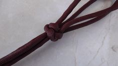 How To Tie A Four Strand Footrope Knot