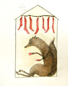 Sock Thief Home, Julianna Swaney