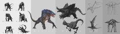 ArtStation - Monster, Liang Mark