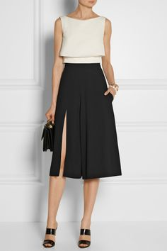 Chalayan | Jersey-crepe culottes | NET-A-PORTER.COM