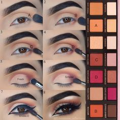 """1,040 Likes, 4 Comments - Asma ✨ (@glamorous_reflections) on Instagram: """"#stepbystep pictorial of my latest look using my beloved @anastasiabeverlyhills Modern Renaissance…"""""""