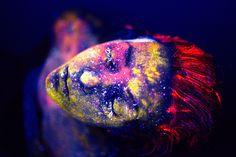 Creative Glow in the Dark Body