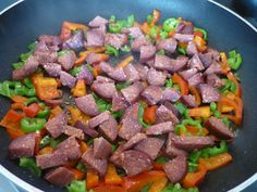 Knoblauchwurst mit Paprika Rezept - Biberli Sucuk Tarifi