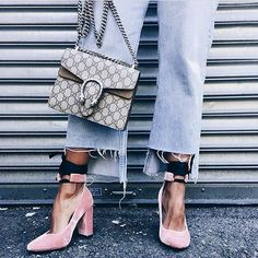 Crush it. @kyrzayda_ in our Valley of the Dolls Velvet Heels. #NastyGalsDoItBetter