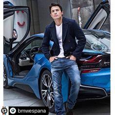#Reposting @bmwespana with @instarepost_app -- Dos jovenes estrellas juntas para @ego_revista: @alexgonzalezact y el #bmwi8 #bmwrepost @garaytalentoficial by @pablosarabiafoto