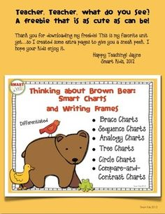 Brown Bear Smart Charts Freebie