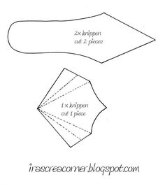 High Heel Paper Shoe Template | paper shoes