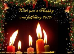 Wish you ....candles...