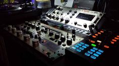 Vestax PMC-26 Rotary mixer in a nice club set up