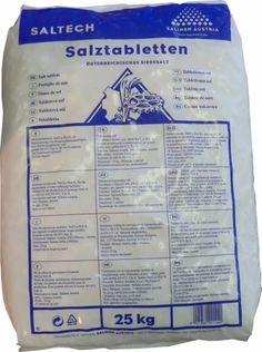 Vízlágyító só 25 kg