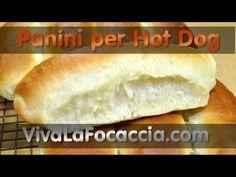 Ricetta Panini per Hot Dog Fatti in Casa - YouTube