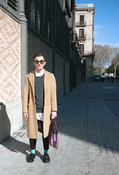 Street style and fashion trends - www.lelook.eu Barcelona, 2014