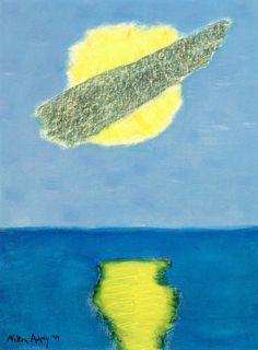 """"""" Cloud Over Sun, Milton Avery 1959 """""""