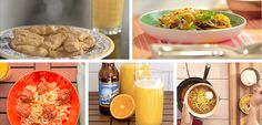 The winter months are full of game days, viewing parties and tailgating. Our Florida Orange Juice recipes are easy-to-make and bring to various sporting events throughout the season. By adding Florida Baked Mozzarella Bites, Orange Juice Benefits, Slow Cooker Turkey Meatballs, Coconut Oil Sugar Scrub, Florida Oranges, Game Day Food, Light Recipes, Healthy Alternatives, Easy Meals