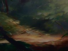 Background Painting from Bambi