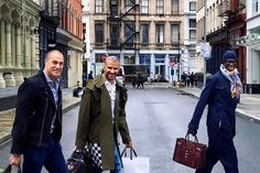 Nigel Barker, Miss J. Alexander, and Jay Manuel—posed for a series of social media photos in New York City, teasing their long-awaited reunion after departing the Tyra Banks-created reality competition series between 2012 and 2015.