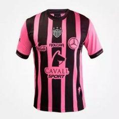 9fe0a0f4d Necaxa Third 16-17 Season Pink Black Soccer Jersey  I845  Soccer Gear