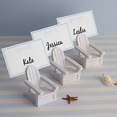 awesome place card holders