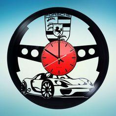 Nice Porsche 2017: Porsche Handmade Vinyl Record Wall Clock - VINYL CLOCKS...  CARS Check more at http://carsboard.pro/2017/2017/04/01/porsche-2017-porsche-handmade-vinyl-record-wall-clock-vinyl-clocks-cars/