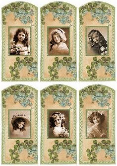 COLLAGE Image for You! Tags From Megan!Free images for You to use in Your Art!