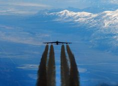 B-52 hits full speed...