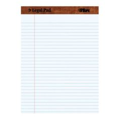 $11.04   Amazon 12 Pack Tops Legal Pad