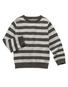 Striped Space Dyed Sweater