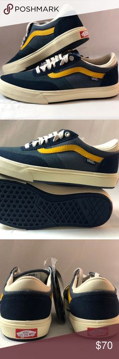 Vans Gilbert Crockett Antique Navy Skate Shoes Vans Gilbert Crockett  Antique Navy Skate Shoes 61cd6436a