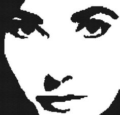 Elizabeth Taylor Counted Cross Stitch Pattern by WooHooCrossStitch, $9.00