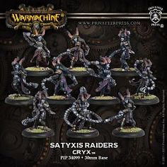 Warmachine Cryx Satyxis Raiders Unit-Cryx-Warmachine