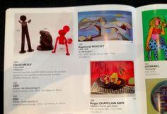Encore une image du catalogue de la vente qui aura lieu le 14 Juin !  Les Flexos de ZED, ainsi que toutes les oeuvres seront visibles au public le vendredi 13 juin, de 9h30 à 18h30 et le samedi 14 juin de 9h30 à 12h !  Ne ratez pas cette belle opportunité de vous offrir une pièce d'art contemporain, juste avant les grandes vacances ! ;)