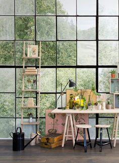 Wandbild Factory Window von Rebel Walls