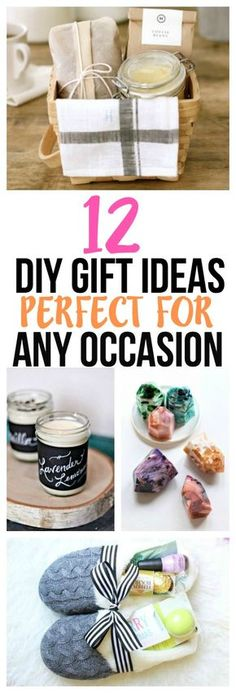 These DIY gift ideas for friends, DIY gift ideas for Mother's Day, DIY gift ideas for a housewarming, or any occasion are amazing! Definitely pinning for later!