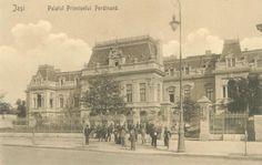 Iasi - Palatul Principelui Ferdinand - antebelica Old Photography, Bucharest, Old Photos, Places To Visit, Louvre, Ferdinand, Architecture, Building, Postcards