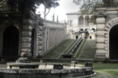 Just Architecture, Gardens of Villa Farnese at Caprarola, Italy ...