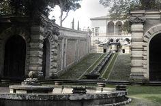 Just Architecture, Gardens of Villa Farnese at Caprarola, Italy ...