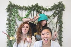 Absolutely awesome #DIY #backdrop for a totally #hipster event. #rentmyphotobooth Photo via #FreePeopleBlog