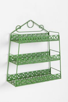 Green Weave Shelf at Urban Outfitters
