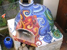 Mosaic Wood Fired Pizza ovens - Google Search