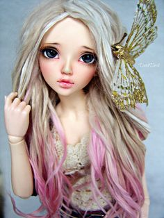 - Name: Eva (pronounce as Effa) - Company & mold: Fairyland Minifee Chloe - Belongs to: DutchDevil ( Flickr page: https://www.flickr.com/photos/51843041@N07/ )